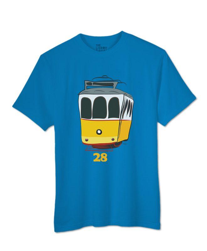 Tram 28 T-shirt atol blue