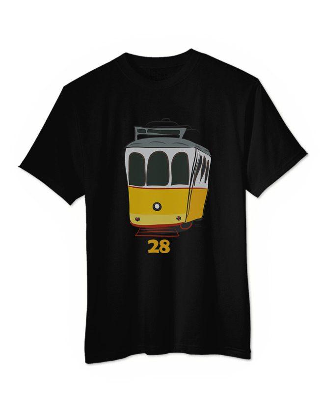 Tram 28 T-shirt black