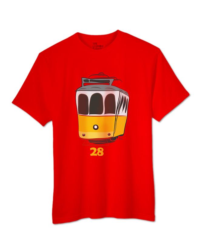 Tram 28 T-shirt red