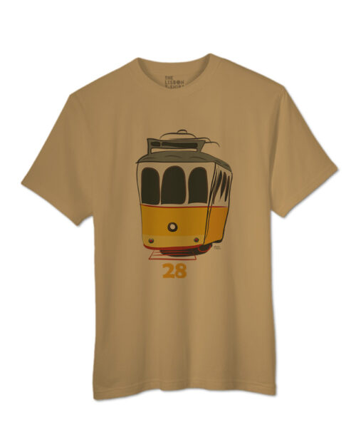 Tram 28 T-shirt sand