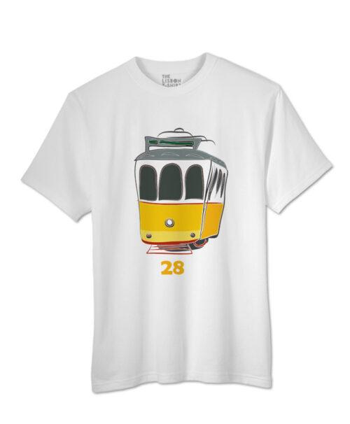 Tram 28 T-shirt white