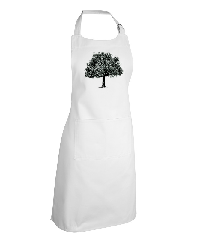 cork oak apron white