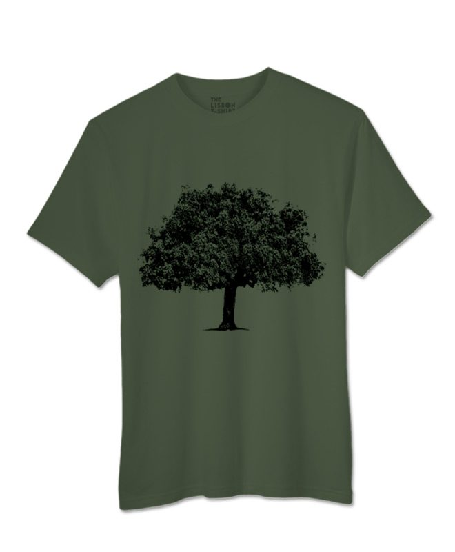 cork oak t-shirt