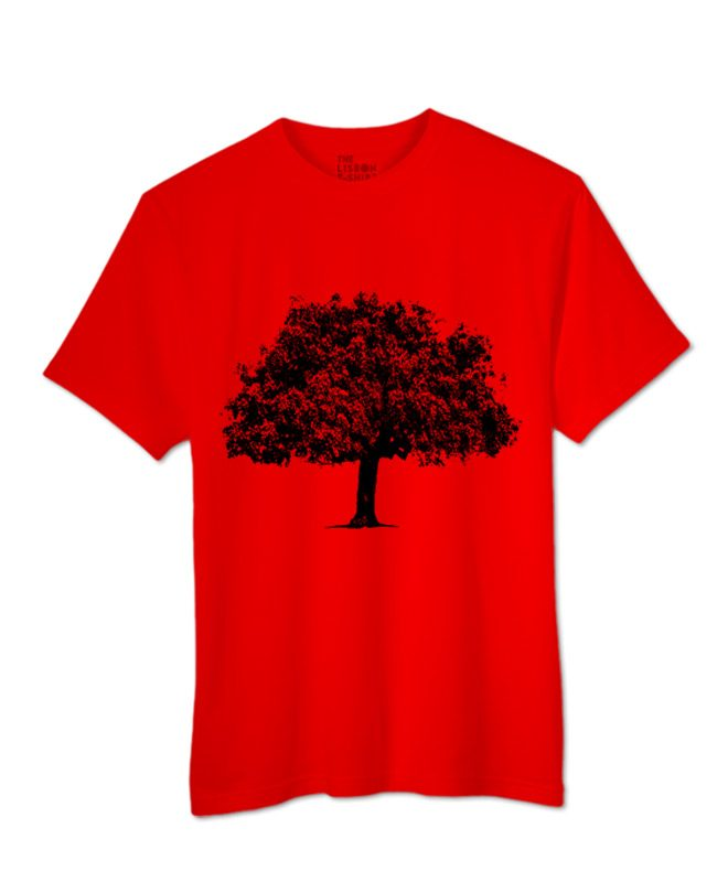 cork oak t-shirt red