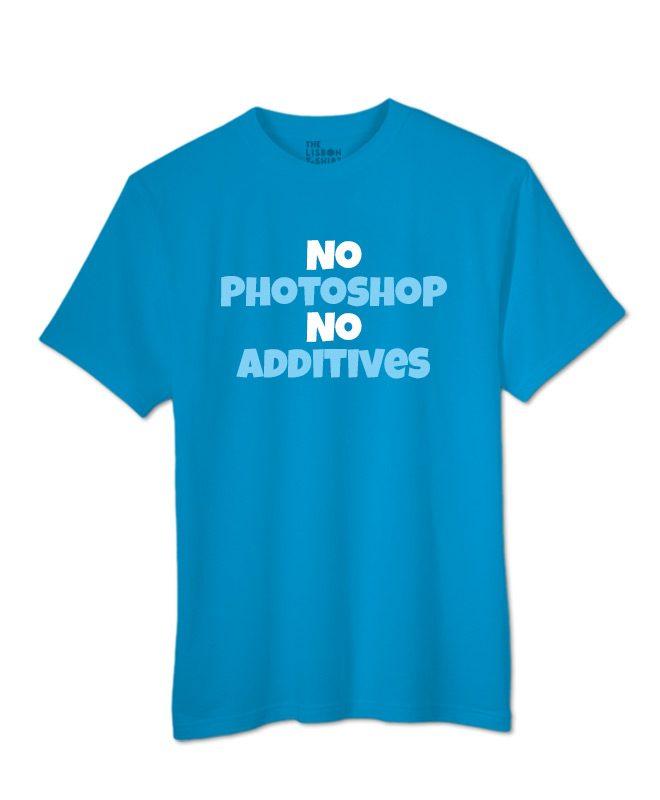 No Photoshop T-shirt
