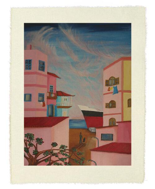 Dakar Printed Canvas creativelisbon