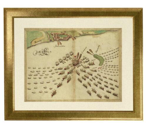 Canvas Malaca battle framed creativelisbon
