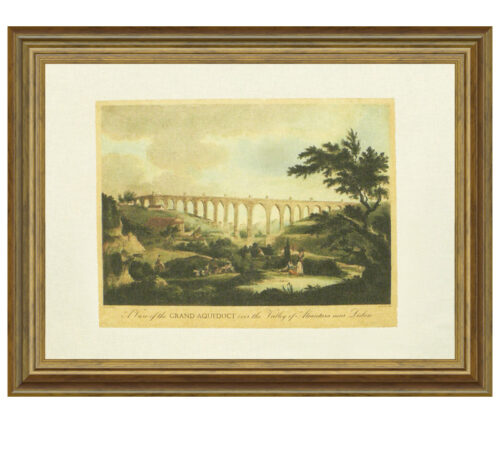 Aqueduct canvas framed creative lisbon