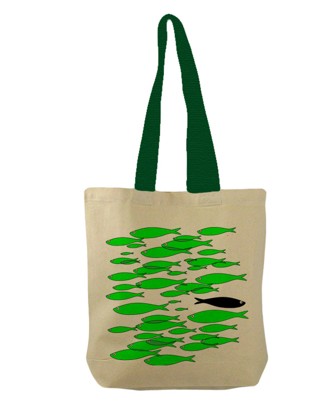green sardines bucket bag creative lisbon