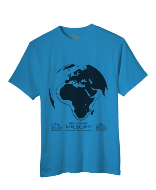 India Road T-shirt attol blue