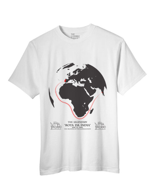 India Road T-shirt white