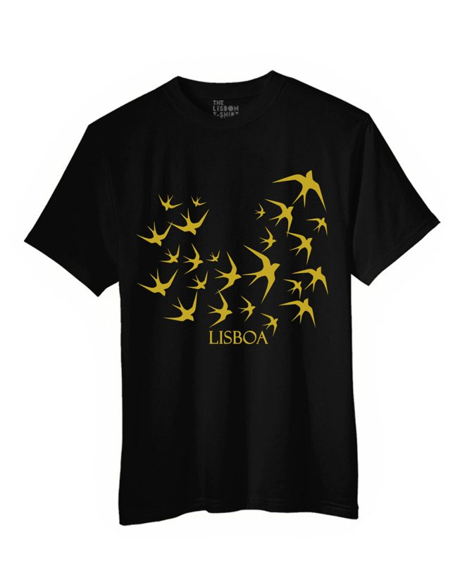 lisbon swallows t-shirt