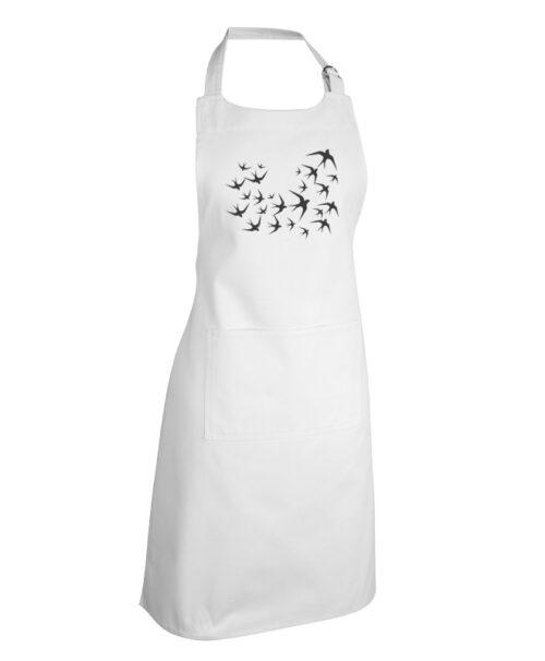 black swallows white apron without lisboa