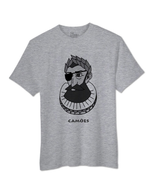 camões t-shirt heather grey creativelisbon