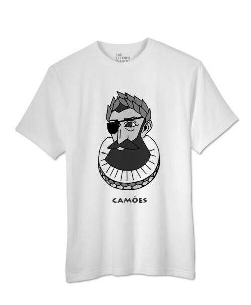 camões t-shirt white creativelisbon