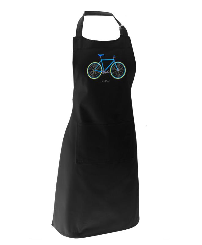 blue Fixie Black apron creativelisbon