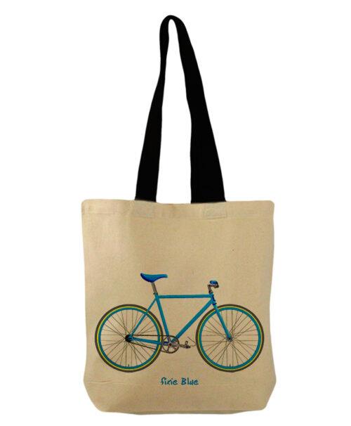 blue Fixie bucket bag creativelisbon