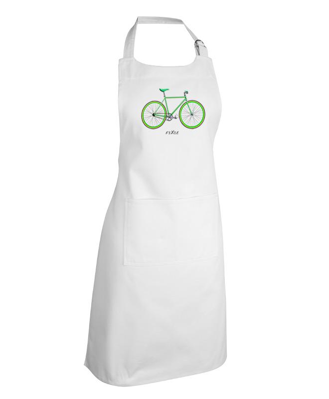 green Fixie White apron creativelisbon
