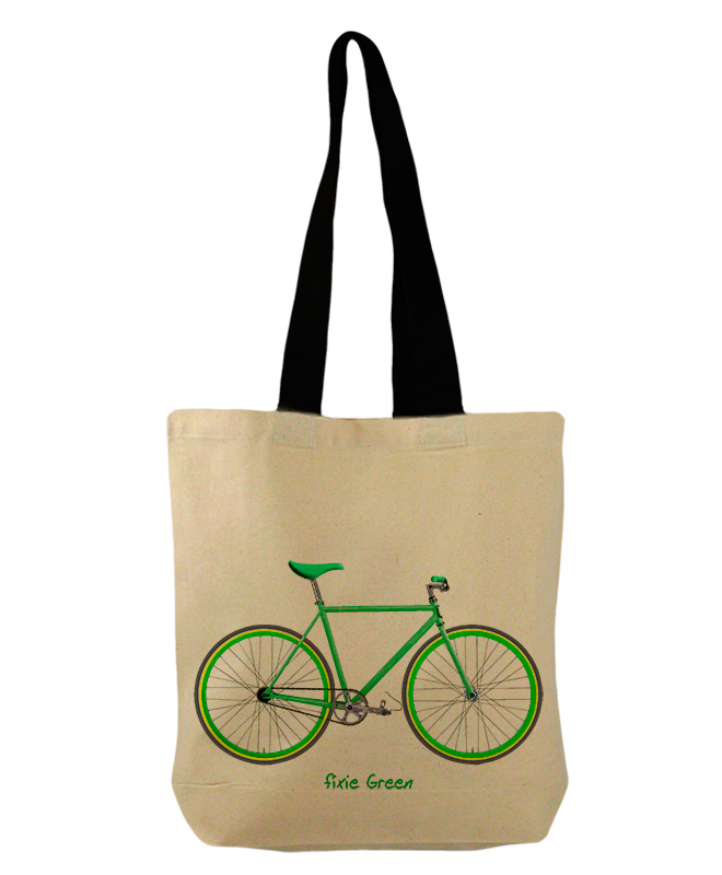 green Fixie bucket bag creativelisbon