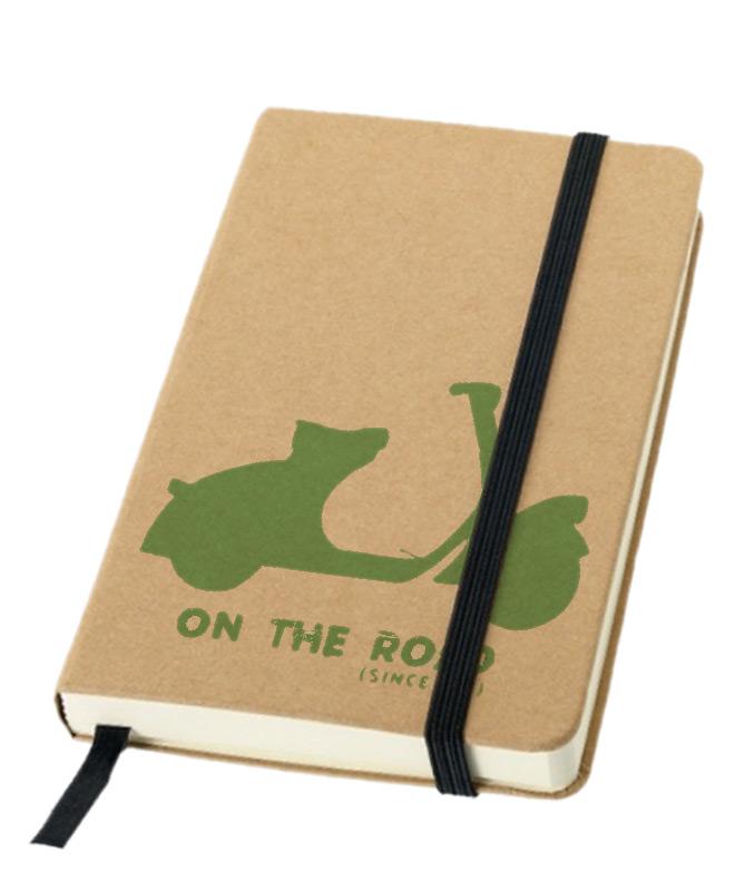 Green Scooter Notebook creativelisbon