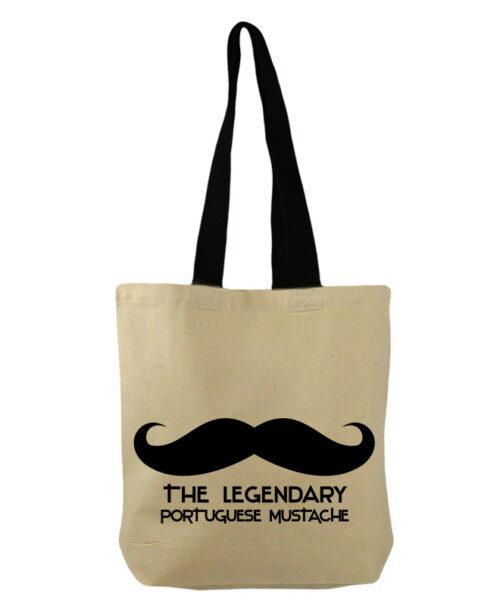 Legendary Portuguese Moustache bucket bag creativelisbon