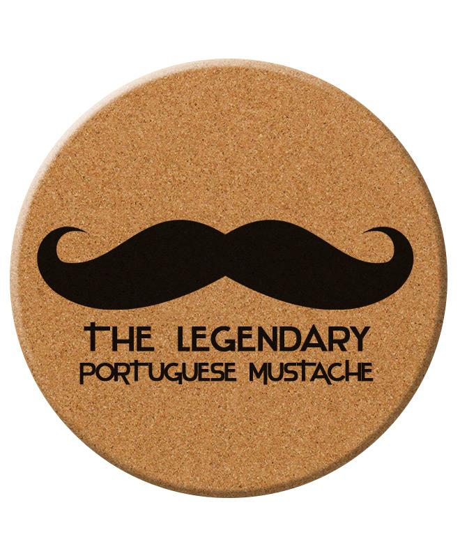 Legendary Portuguese Moustache trivet creativelisbon