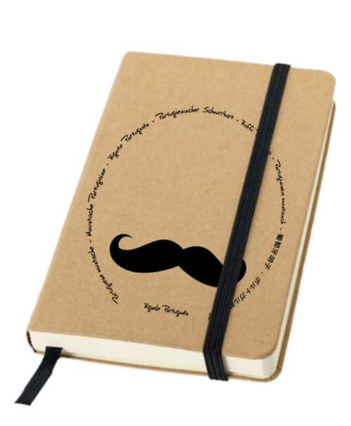 Legendary Portuguese Moustache Notebook creativelisbon