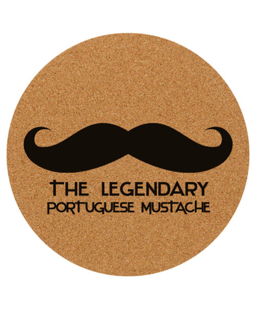 Legendary Portuguese Moustache placemat creativelisbon