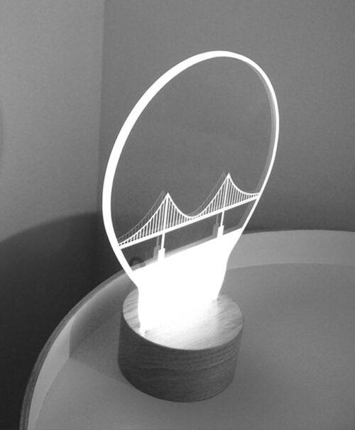 Lisbon bridge Light creativelisbon