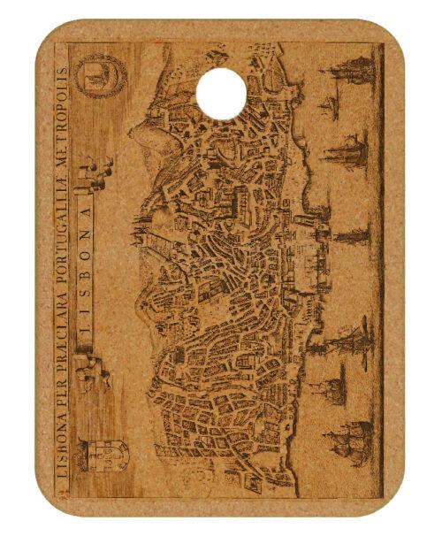 Lisbona cork trivet creativelisbon