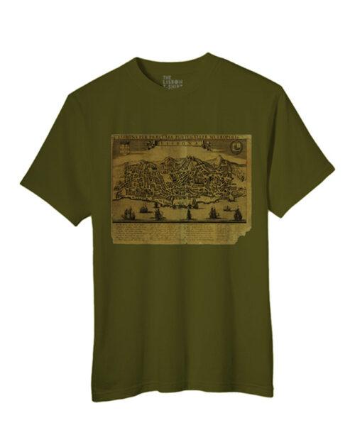 Lisbona T-shirt khaki creativelisbon