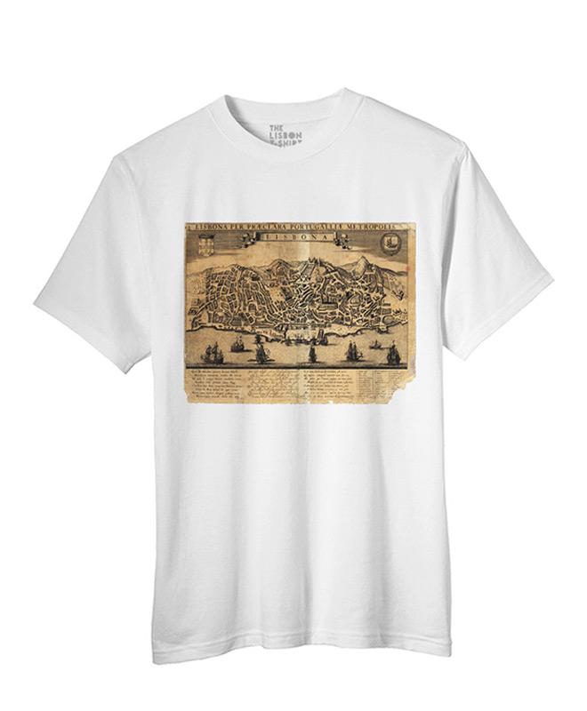 Lisbona T-shirt white creativelisbon