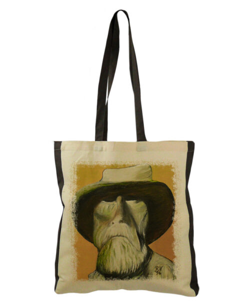 old man tote bag creativelisbon