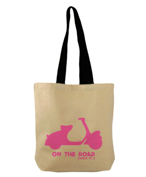 Pink Scooter Bucket Bag creativelisbon