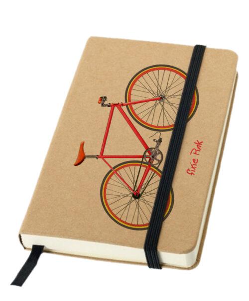 pink Fixie bike notebook creativelisbon