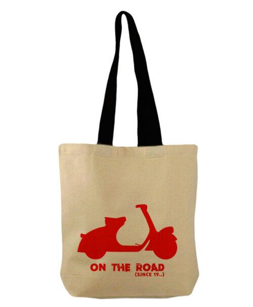 Red Scooter Bucket Bag creativelisbon