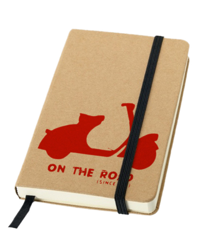 red Scooter Notebook creativelisbon