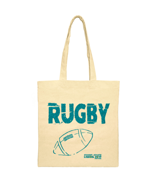 rugby festival shoulder bag emerald printing creativelisbon