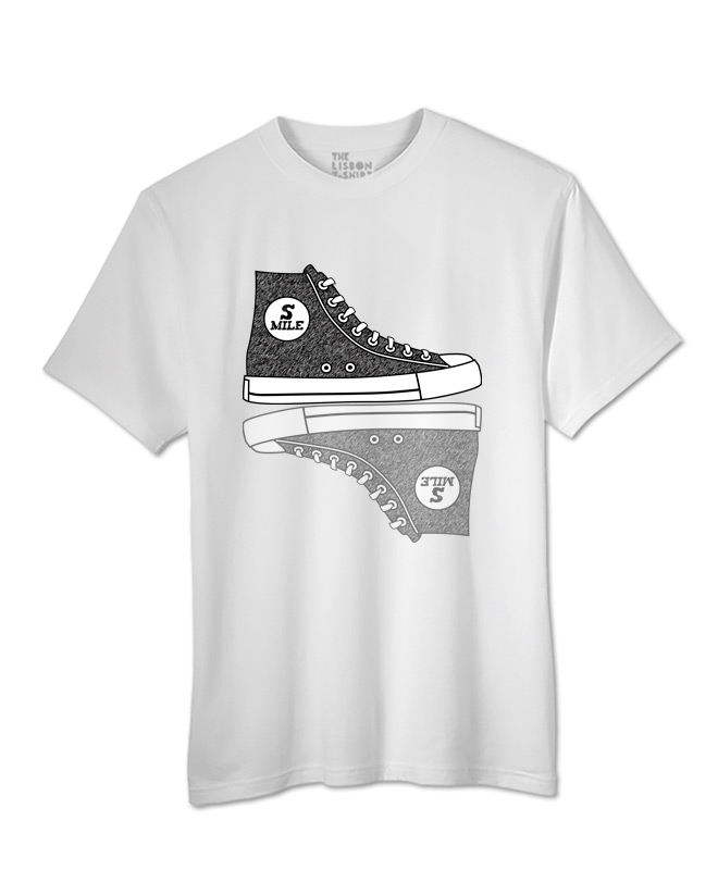 Sneakers T-shirt white
