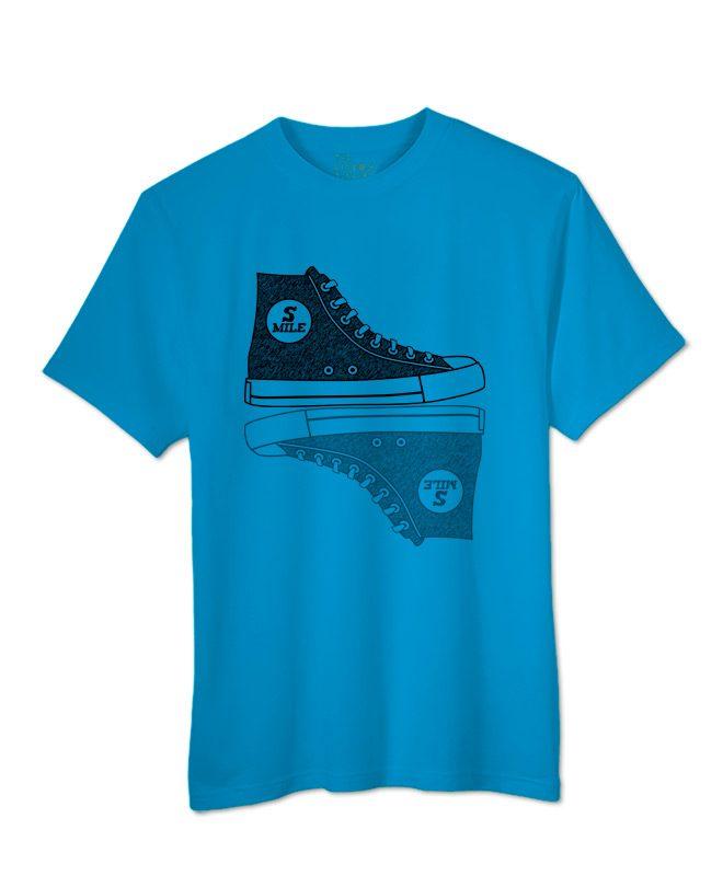 Sneakers T-shirt atol blue