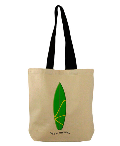 Green Surf Board Bucket Bag