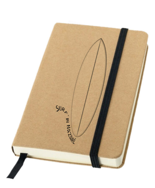 Glass Surf Board Notebook