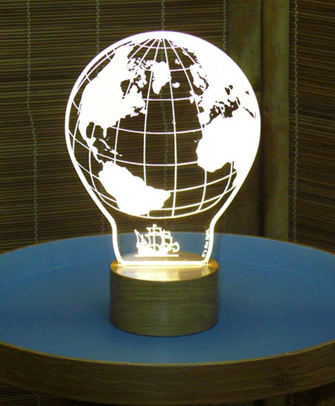 world map Lighting