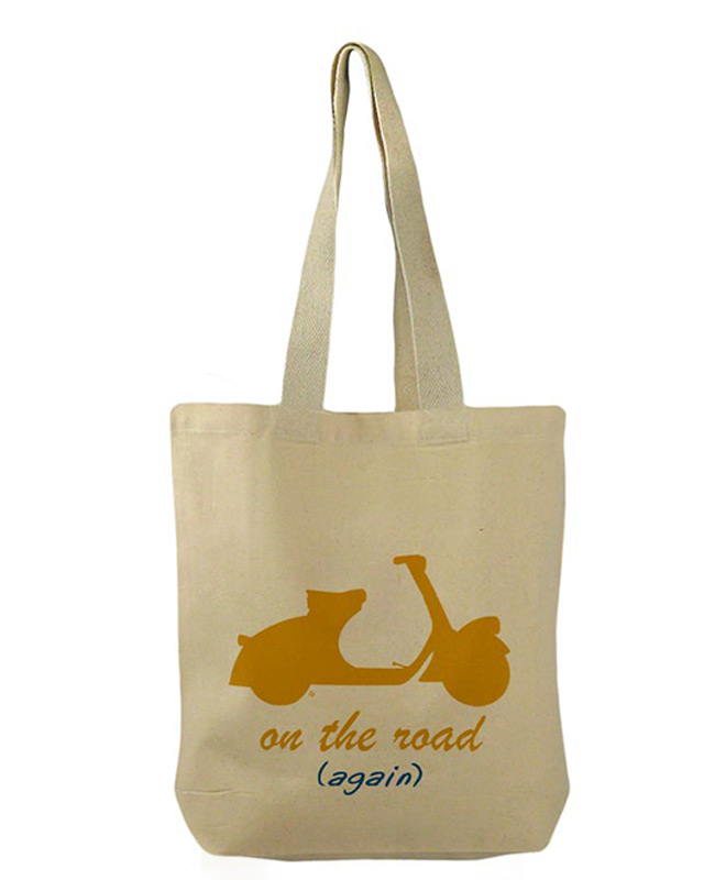 Scooter Bucket Bag yellow