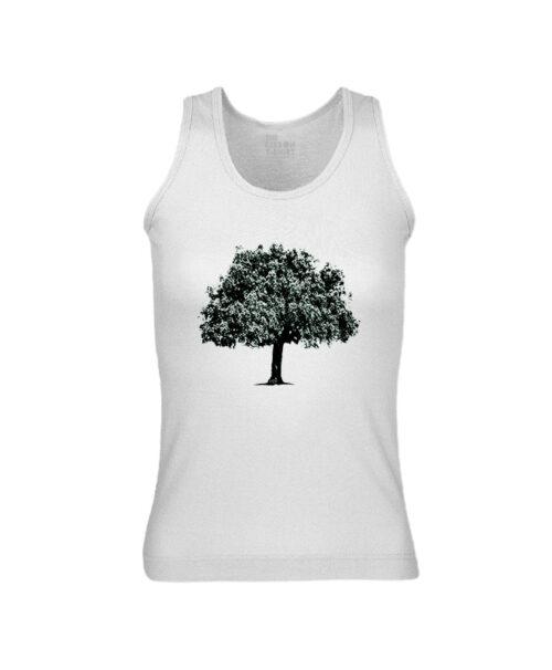 Cork Oak Tank Top white creativelisbon