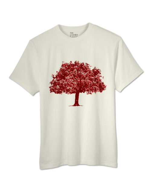Red Cork Oak T-shirt natural creativelisbon