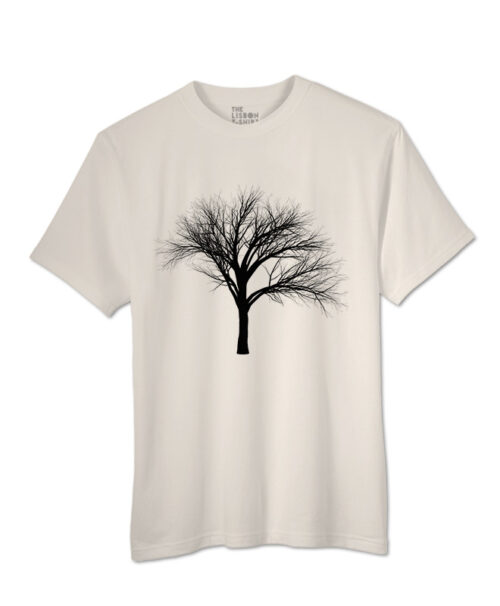 black fan tree t-shirt natural creative lisbon