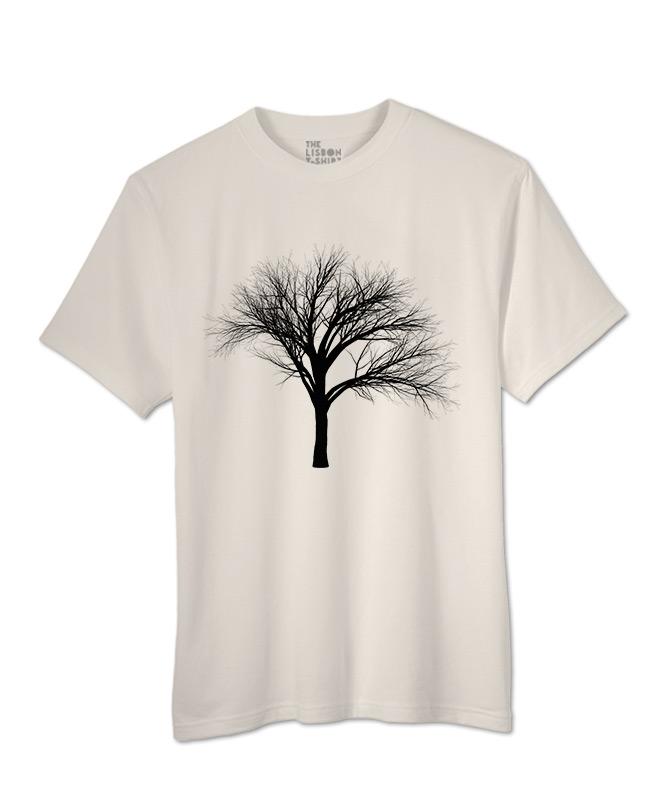 black fan tree t-shirt natural creative lisbon