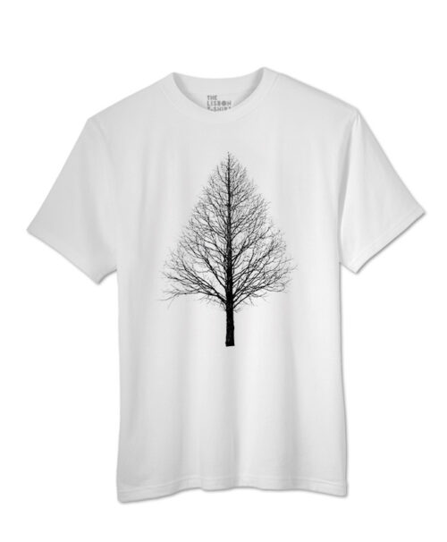 black Pyramid tree t-shirt