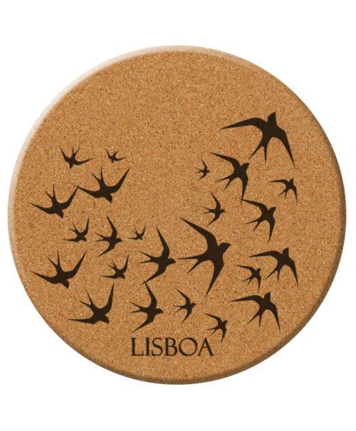 Lisbon Black Swallows trivet